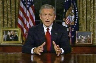 Bush911_desk